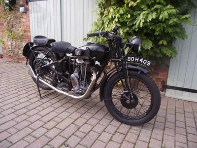Lot 66 - 1935 Sunbeam Model 9