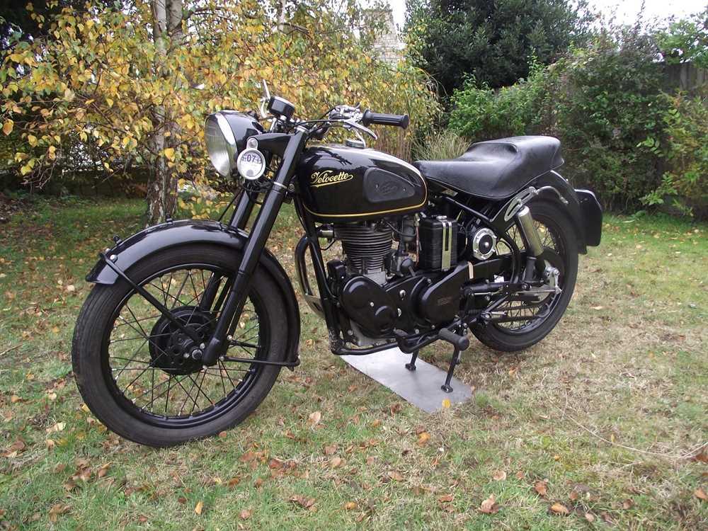 Lot 93 - 1953 Velocette Mac