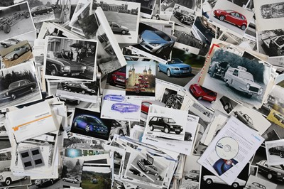 Lot 1 - Large Quantity of Post-War Motoring Press Photographs