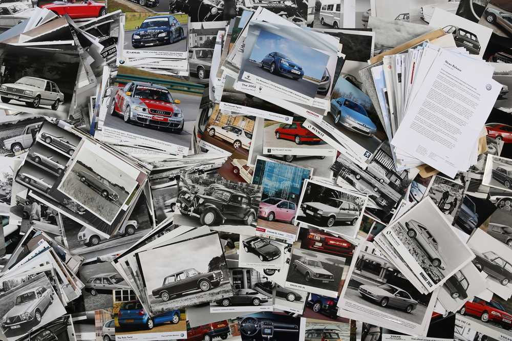 Lot 2 - Large Selection of Post-War Motoring Press Photographs
