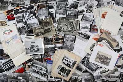 Lot 4 - Quantity of Photographs Depicting Commercial Vehicles