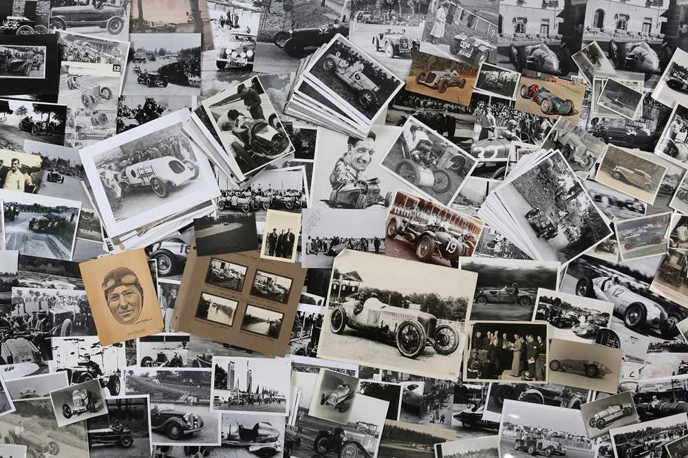 Lot 5 - Quantity of Photographs Depicting Pre-War Motor Racing