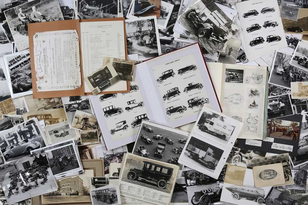 Lot 7 - Quantity of Photographs Depicting Pre-War Vehicles
