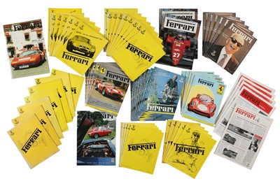 Lot 8 - Quantity of Ferrari Literature