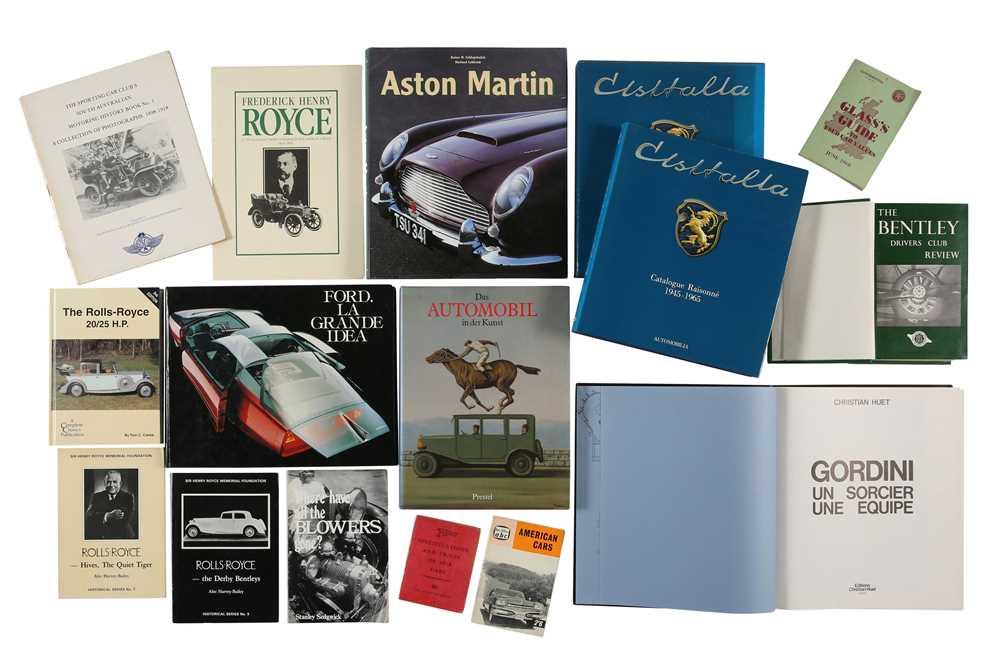 Lot 10 - Quantity of Motoring Books