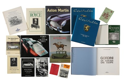Lot 10 - Quantity of Motoring Books