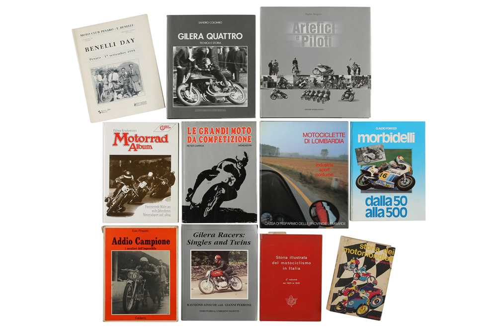 Lot 11 - Quantity of Motorcycle Books