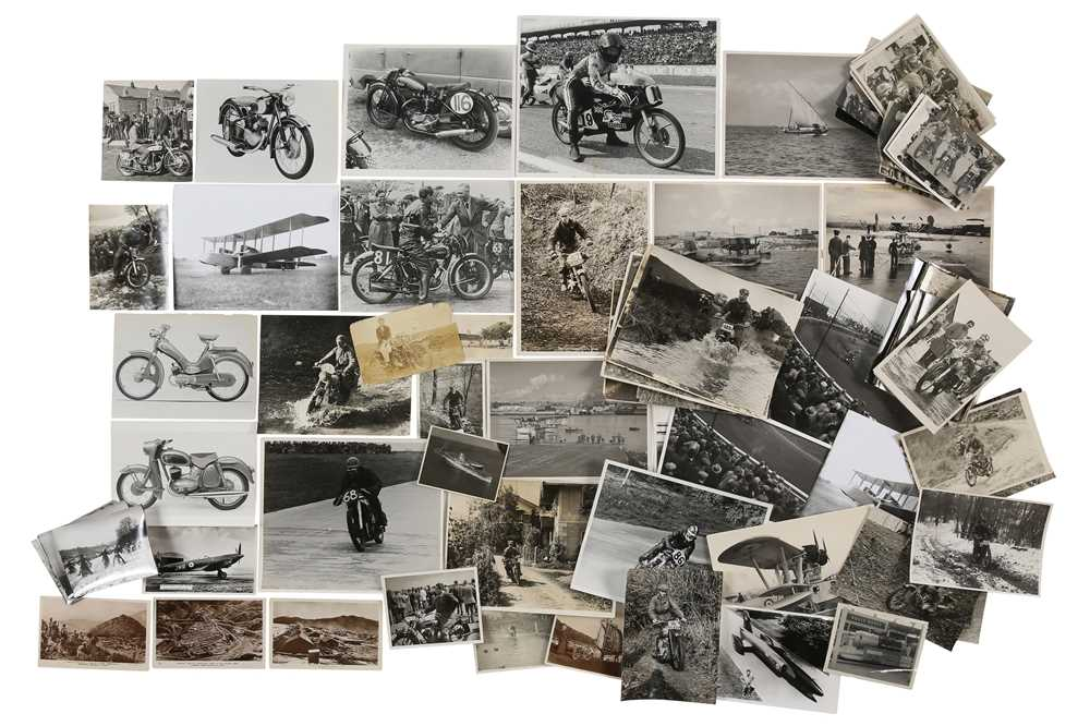 Lot 12 - Quantity of Aircraft and Motorcycle Photographs