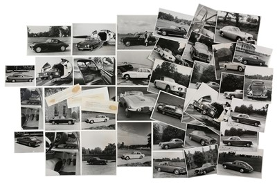 Lot 13 - Quantity of Original Bristol Cars Press Photographs