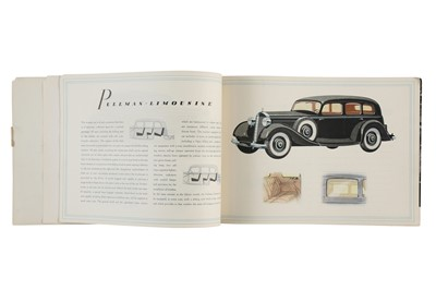 Lot 15 - Pre-War Mercedes-Benz Type 230 Sales Brochure