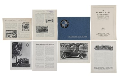 Lot 19 - Frazer-Nash / BMW Literature