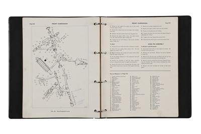 Lot 30 - Aston Martin DB6 Workshop Manual