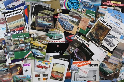Lot 32 - Large Quantity of Rootes Group Sales Brochures