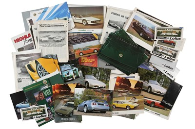 Lot 33 - Quantity of Lotus Sales Brochures
