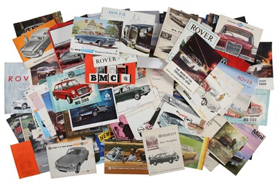 Lot 39 - Quantity of British Sales Brochures