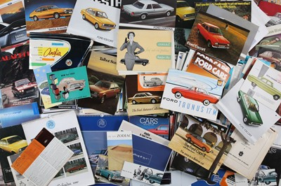 Lot 40 - Two Boxes of Ford Sales Brochures