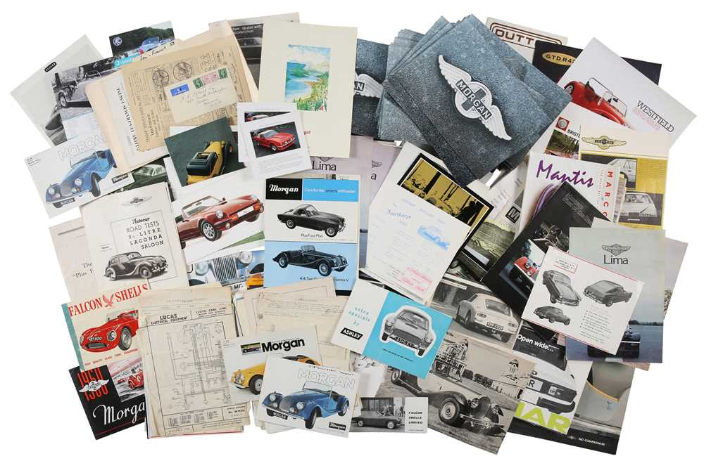 Lot 42 - Quantity of Small-Production British Sales Brochures