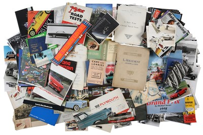 Lot 47 - Four Boxes of Assorted Literature