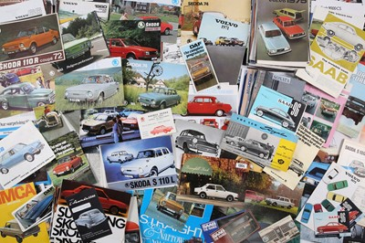 Lot 55 - Large Quantity of Sales Brochures