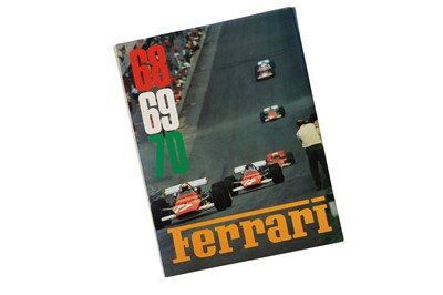 Lot 57 - Ferrari Combined Yearbook - 1968/69/70