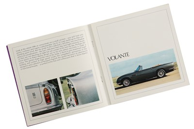 Lot 60 - Aston Martin DB6 Saloon and Volante Sales Brochure