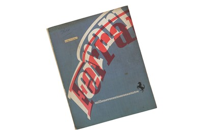Lot 68 - Ferrari Yearbook - 1963
