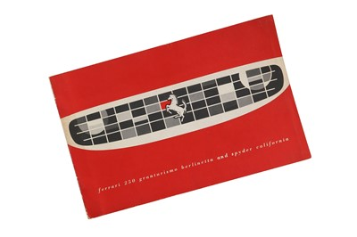 Lot 70 - A Very Rare Ferrari 250 Granturismo Berlinetta and Spyder California Sales Brochure