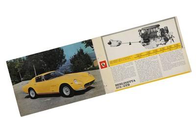 Lot 71 - Ferrari 275 GTB Sales Brochure