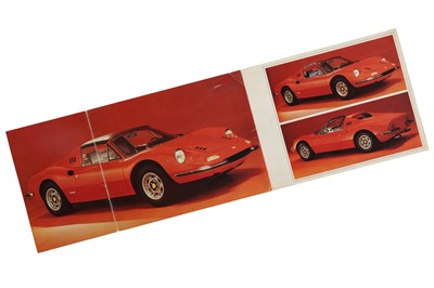 Lot 73 - Ferrari 246 Dino GTS Sales Brochure