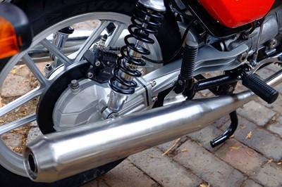 Lot 33-1981 Moto Guzzi V50 Monza