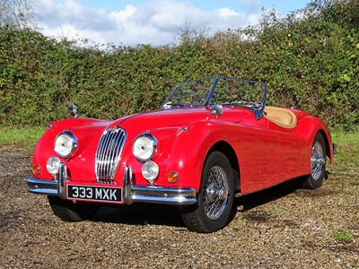Lot 350 - 1955 Jaguar XK140 MC Roadster
