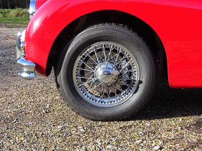 Lot 350 - 1955 Jaguar XK140 MC Roadster