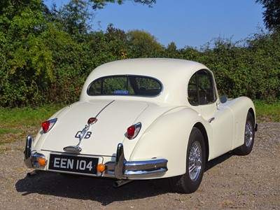 Lot 318-1955 Jaguar XK140 Fixed Head Coupe