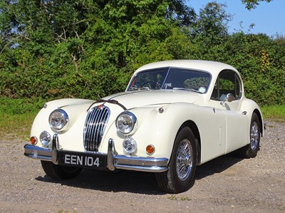 Lot 318 - 1955 Jaguar XK140 Fixed Head Coupe