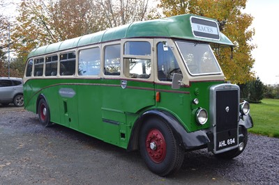 Lot 314-1947 Leyland Tiger PS1 Single-Deck Bus
