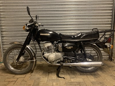 Lot 207 - 1980 Honda CD200 Benly