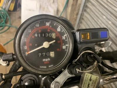 Lot 207-1980 Honda CD200 Benly