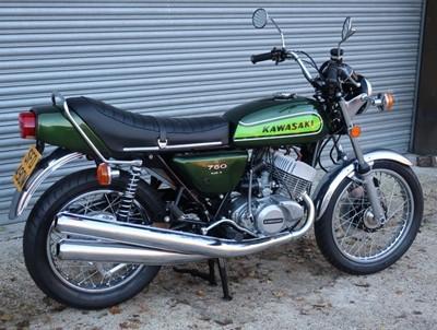 Lot 30-1974 Kawasaki H2B 750