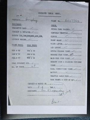 Lot 208 - 1951 Vincent Comet