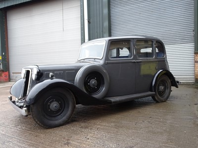 Lot 6 - 1937 Armstrong Siddeley 14hp