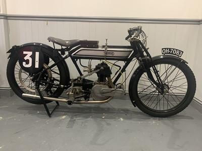 Lot 132 - 1921 Norton Model 16H 490cc Racing Motorcycle