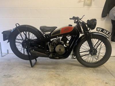 "Lot 122 - 1932 Coventry Eagle ""Silent Superb"" 147cc"