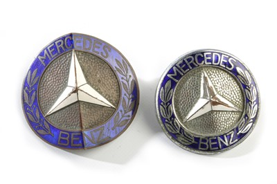 Lot 144 - A Rare and Early Pre-War Mercedes-Benz Radiator Badge