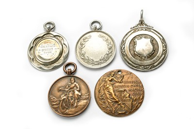 Lot 147 - Five Pre-War Award Medallions