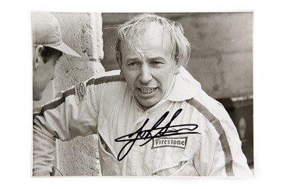 Lot 148 - John Surtees Hand-Signed Period Publicity Photograph