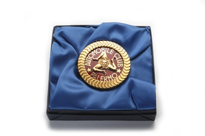 Lot 149 - A Rare Automobile Club Palermo Member's Badge