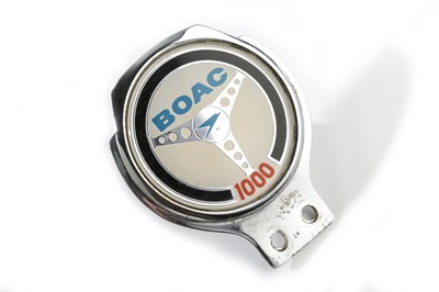 Lot 154 - BOAC 1000 Endurance Race Car Badge