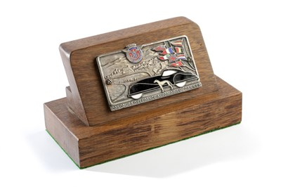 Lot 156 - A Rare Concours D'Elegance Automobile Cannes Entrant's Plaque by Drago