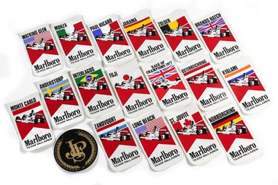 Lot 159 - Seventeen Period Marlboro-Mclaren Decals