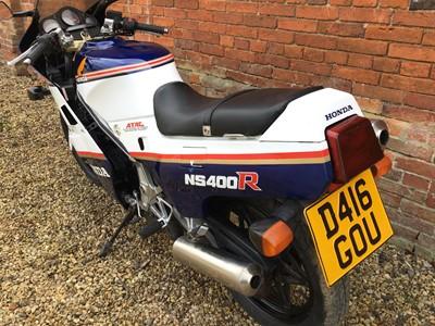 Lot 47 - 1987 Honda NS400RF 399cc